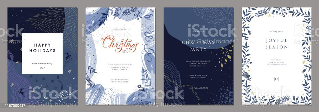 Templates_04 de Navidad universal - arte vectorial de Abstracto libre de derechos