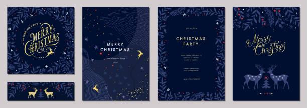 ユニバーサルクリスマスtemplates_12 - クリスマス点のイラスト素材/クリップアート素材/マンガ素材/アイコン素材