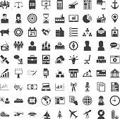 Universal icon set. 81 icons