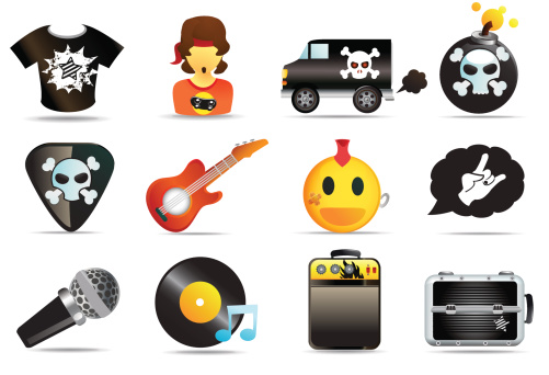 Universal Icons Rock and Roll Music