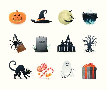 Universal icons | Set 15 (Halloween)