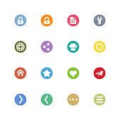 Universal internet icons,vector illustration. EPS 10.