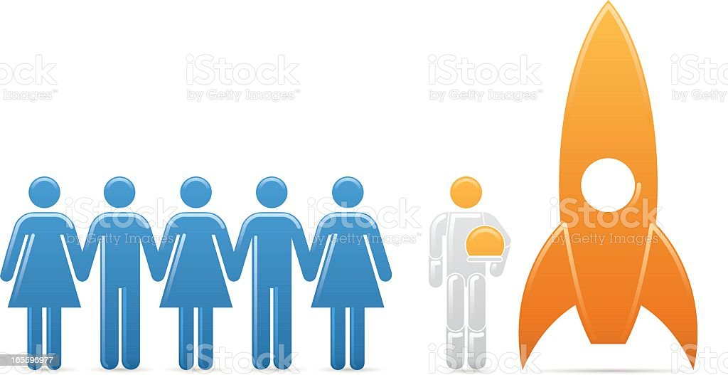 Universal Men: Ready For Take-Off royalty-free universal men ready for takeoff stock vector art & more images of adult