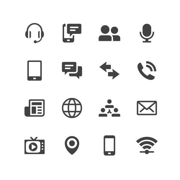 ilustraciones, imágenes clip art, dibujos animados e iconos de stock de iconos de móvil universal - lentes contacto