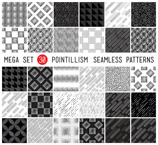 Universal set vector seamless patterns – Vektorgrafik