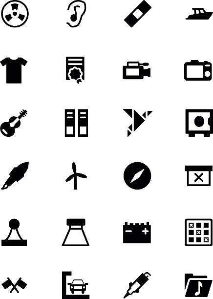 illustrazioni stock, clip art, cartoni animati e icone di tendenza di universale per web e mobile icone vettoriali 15 - deadly sings