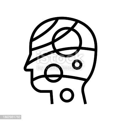 universe philosophy line icon vector. universe philosophy sign. isolated contour symbol black illustration