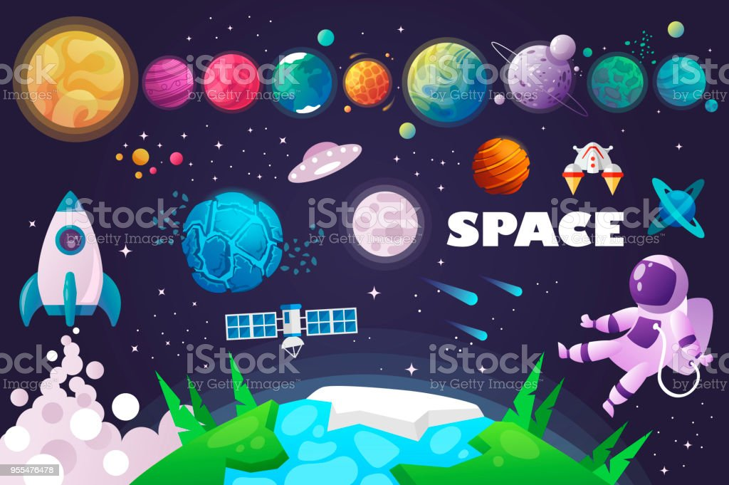 universe. space. space trip. design. royalty-free universe space space trip design stock illustration - download image now