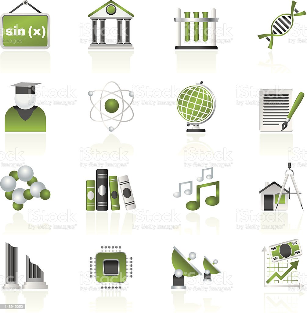 University and higher education icons royalty-free university and higher education icons stock vector art & more images of adult student