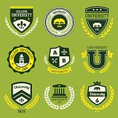 University crests
