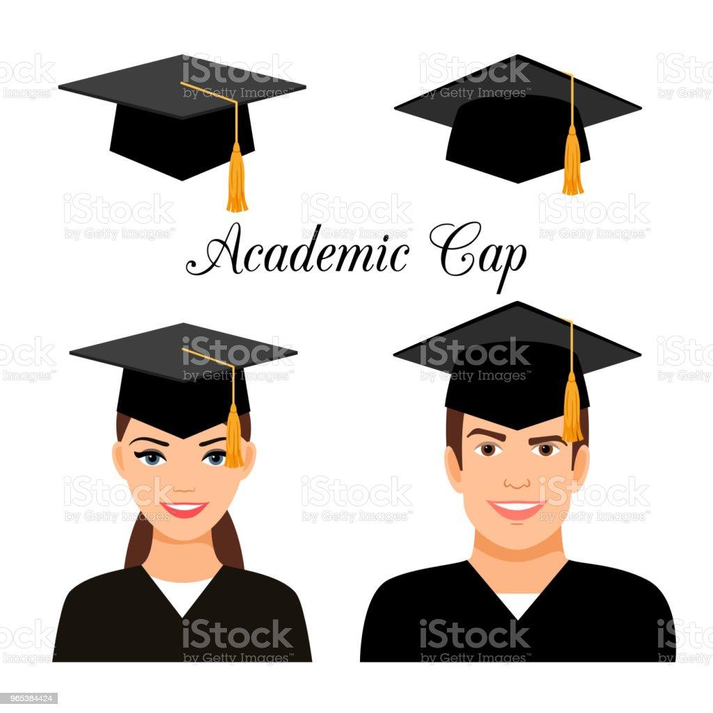 University graduate students university graduate students - stockowe grafiki wektorowe i więcej obrazów awatar royalty-free