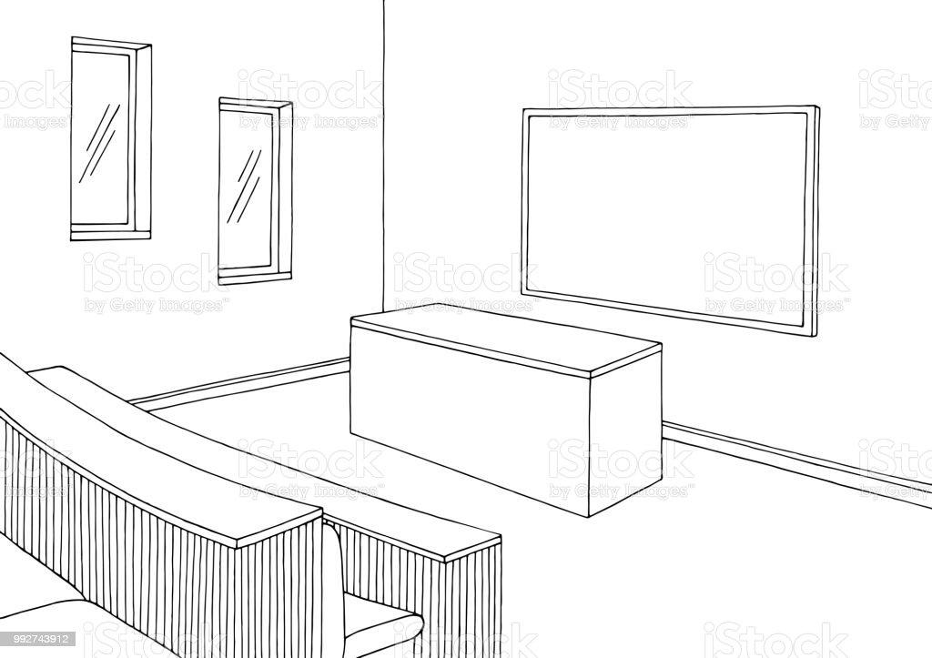 Ilustración de Vector De Ilustración De Universidad Aula Gráfica ...