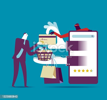 istock unsafe online shopping 1325880843