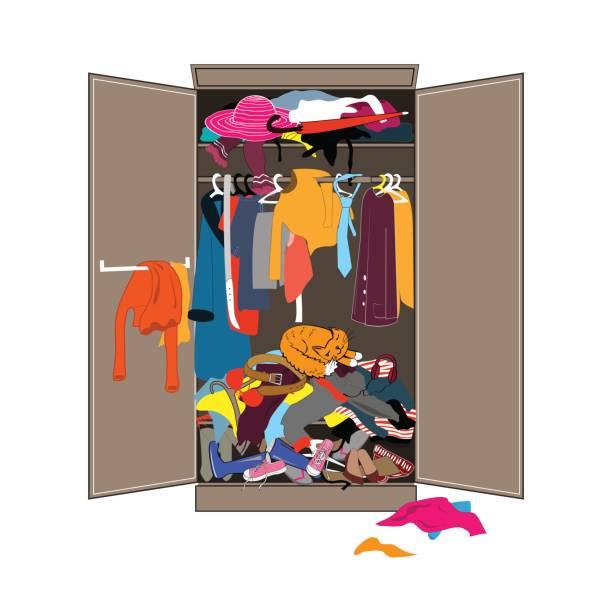 Royalty Free Closet Clip Art Vector Images Illustrations