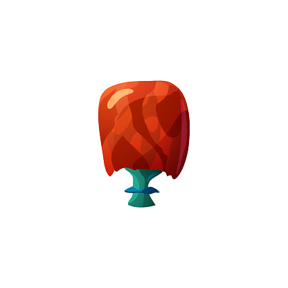 Unusual beautiful fantasy mushroom for making witch fabulous poison potion.