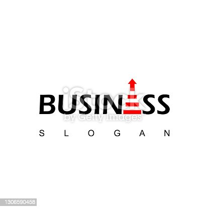 istock Up Stairs Business Logo Design Inspiration 1306590458