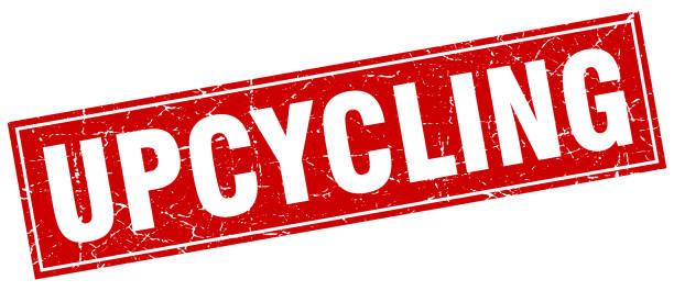upcycling quadratische stempel - upcycling stock-grafiken, -clipart, -cartoons und -symbole