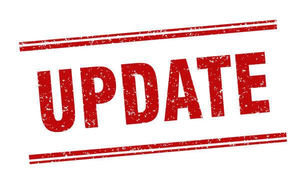 update stamp. update label. square grunge sign vector art illustration