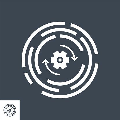 Update Vector Glyph Icon