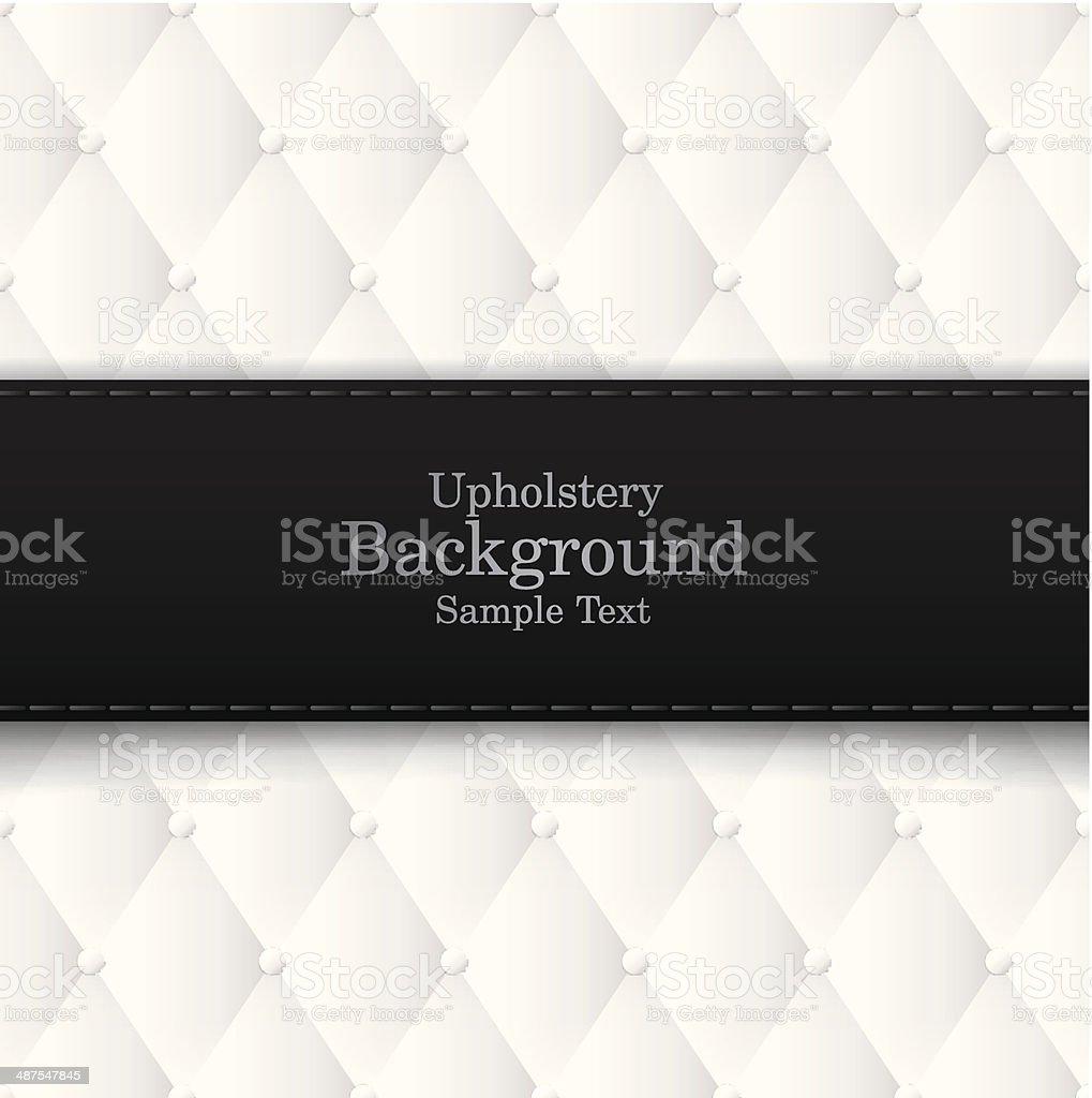 Upholstery vector background. vector art illustration