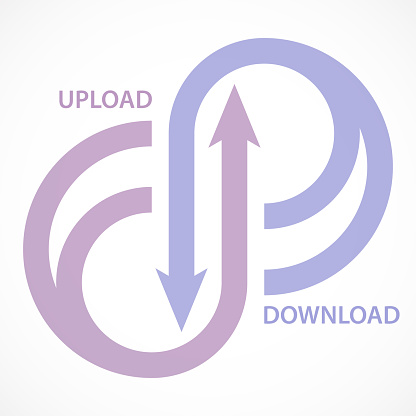 Upload & Download Arrows