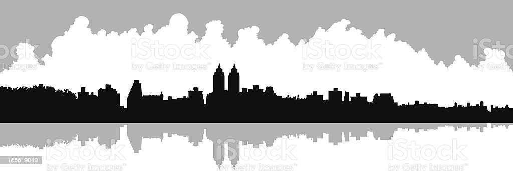 Upper West Side royalty-free stock vector art