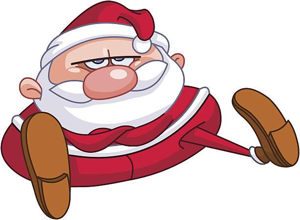 upset santa - old man crying clip art stock illustrations, clip art, cartoons, & icons