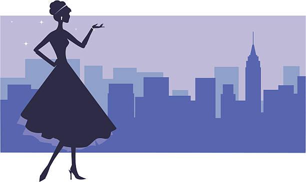 Uptown Girl - Illustration vectorielle