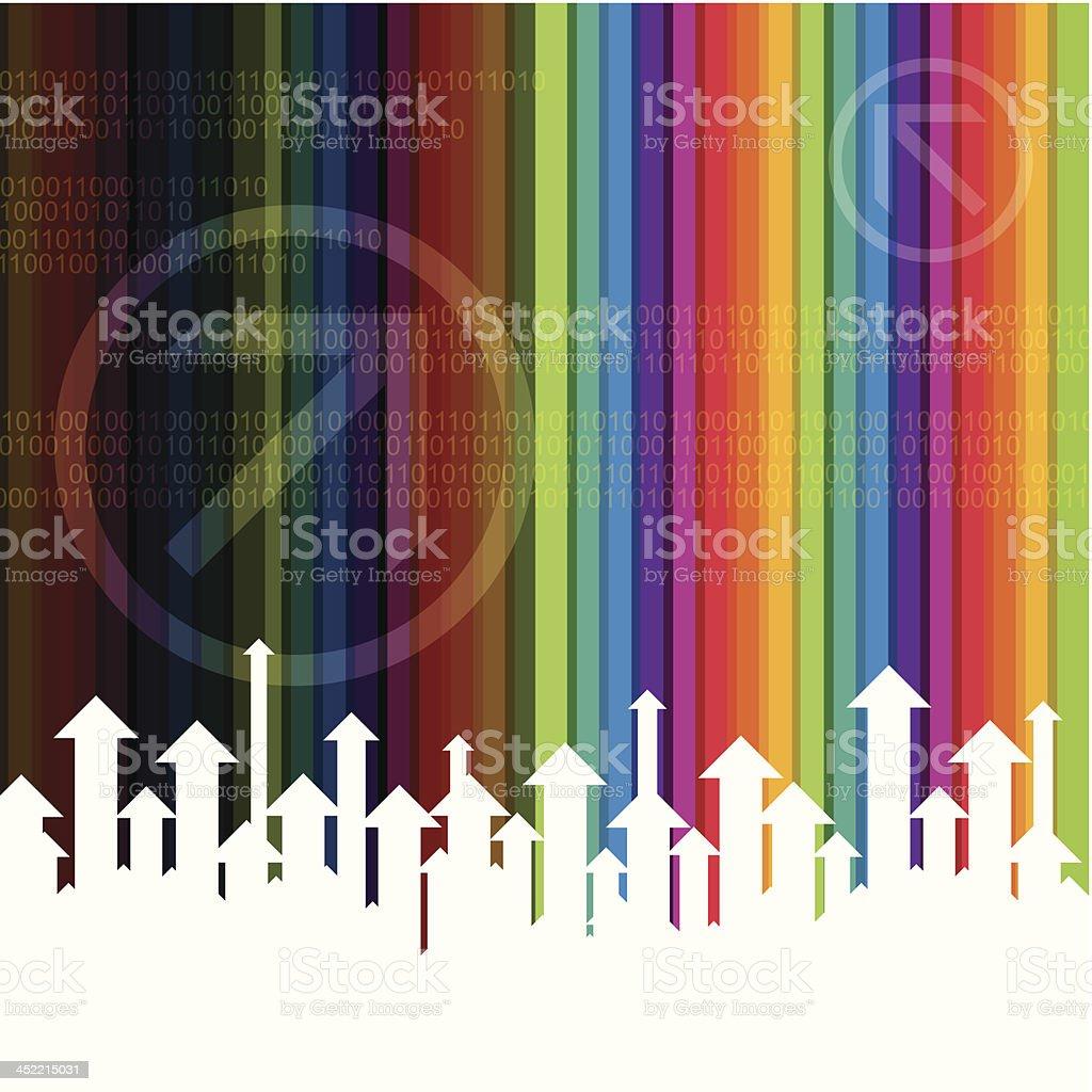 upward arrows, success concept royalty-free upward arrows success concept stock vector art & more images of abstract
