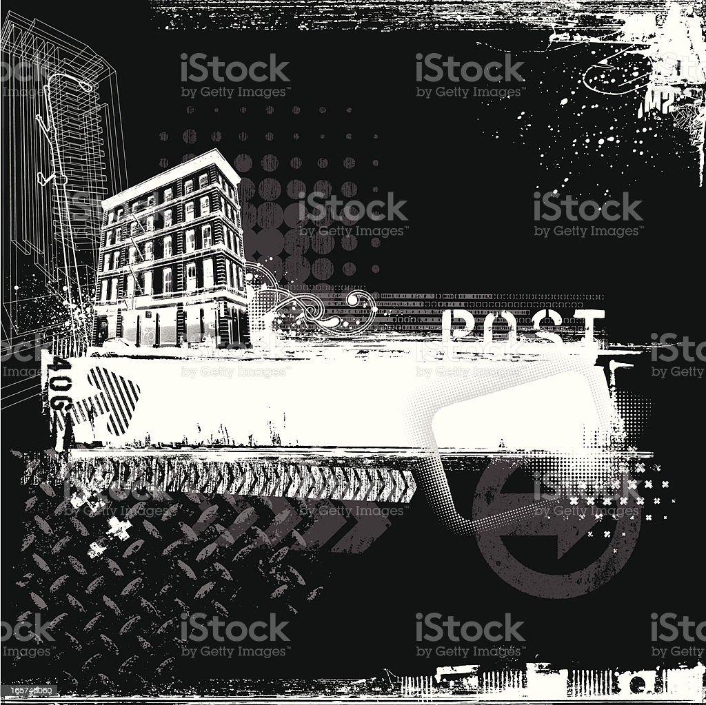 Urban Banner royalty-free stock vector art