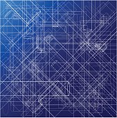 Urban Blueprint [vector]