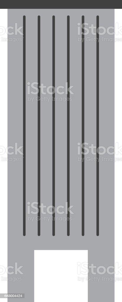 Urban building tower urban building tower - arte vetorial de stock e mais imagens de abstrato royalty-free