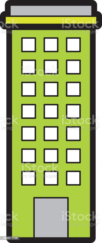Urban building tower royalty-free urban building tower stock vector art & more images of abstract