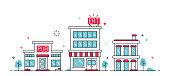 istock Urban City Buildings 1156509388