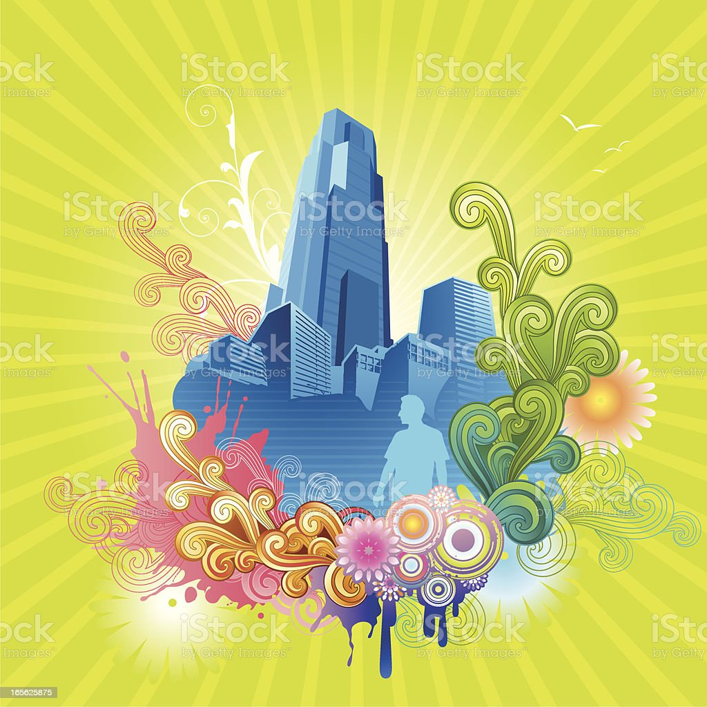 Urban City royalty-free urban city stock vector art & more images of art