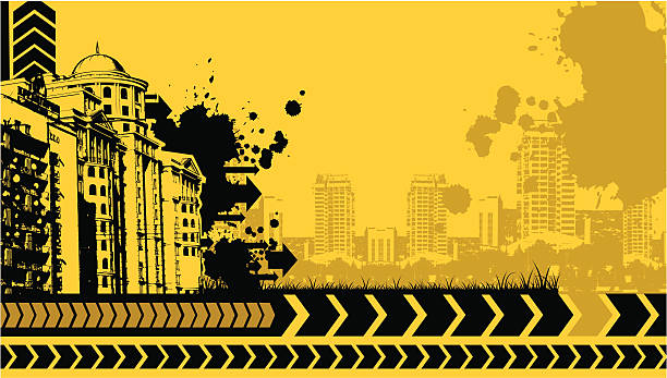 urban grunge-design - graffiti schriftarten stock-grafiken, -clipart, -cartoons und -symbole