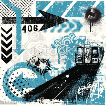 istock Urban Grunge Elements 165727187