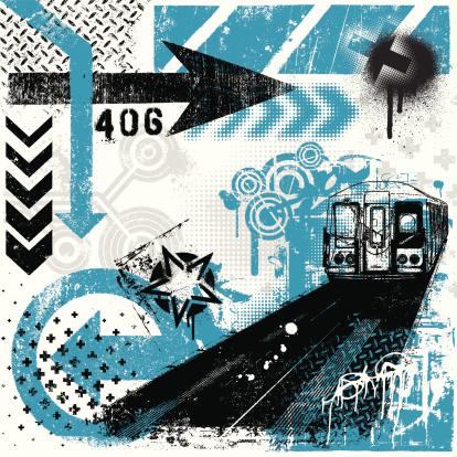 Graffiti texture stock illustrations