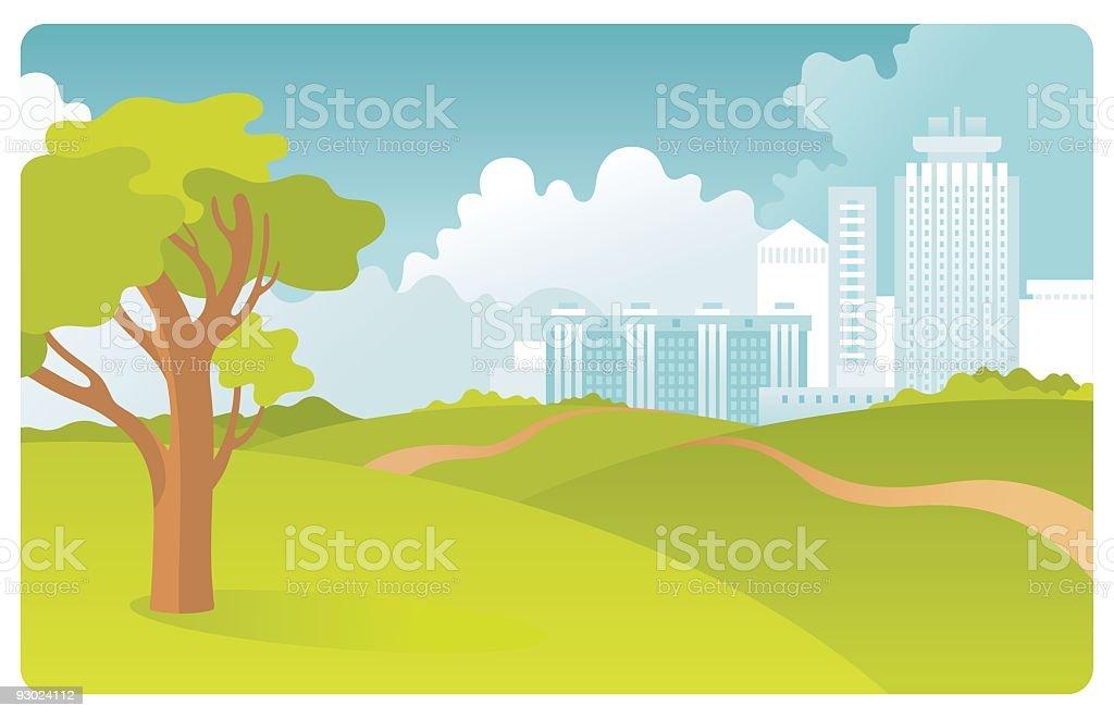 Urban landscape royalty-free urban landscape stock vector art & more images of built structure