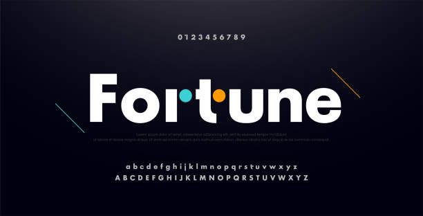 urban modern alphabet font and number. Typography future creative design concept fonts and numbers. vector illustraion urban modern alphabet font and number. Typography future creative design concept fonts and numbers. vector illustraion alphabet symbols stock illustrations