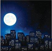 Urban Night City