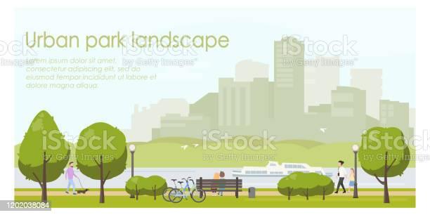 Urban park landscape flat illustration horizontal banner template vector id1202038084?b=1&k=6&m=1202038084&s=612x612&h=wryb ocdhvbaqspznrws208768xklgismojjh ftzrm=
