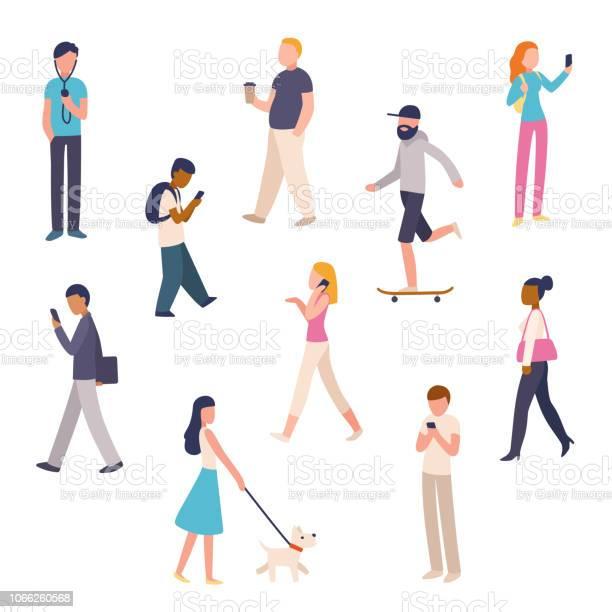 Urban people walking set vector id1066260568?b=1&k=6&m=1066260568&s=612x612&h=wn 0ow2upazylccp66xlvedr9ujzjolnqnjwh4hgqqk=