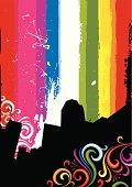 Urban rainbow
