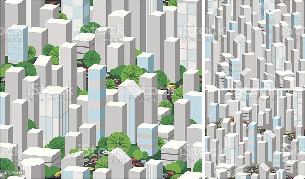 urban seamless royalty-free stock vector art