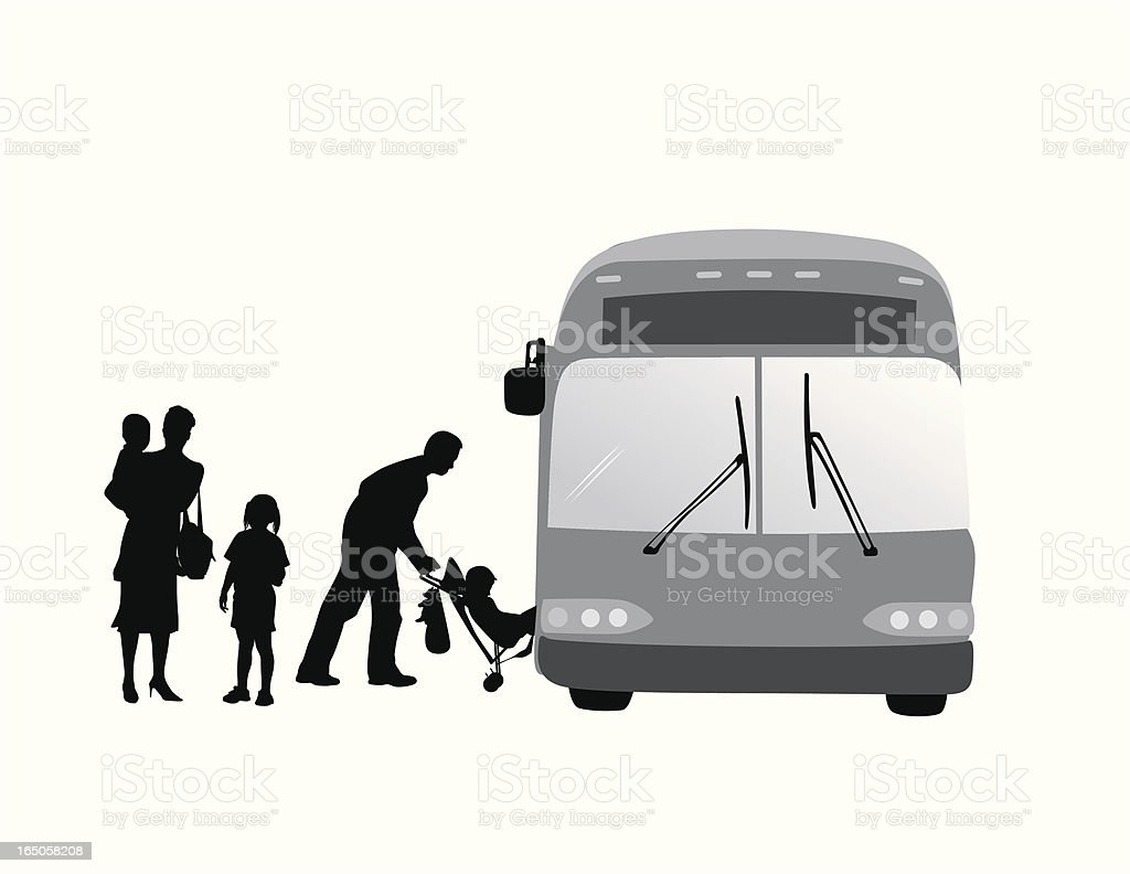 Urban Solutions Vector Silhouette royalty-free stock vector art