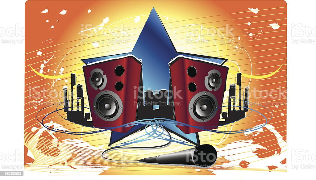 Urban Speaker royalty-free urban speaker stock vector art & more images of art