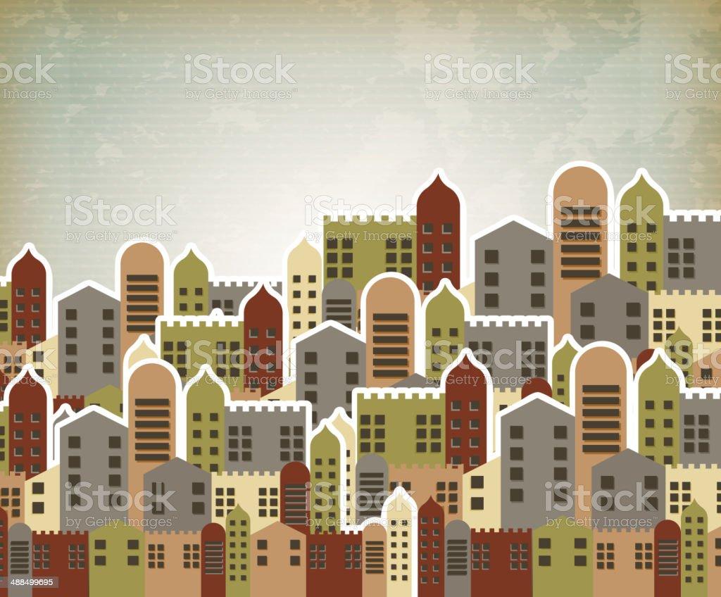 urban style royalty-free stock vector art