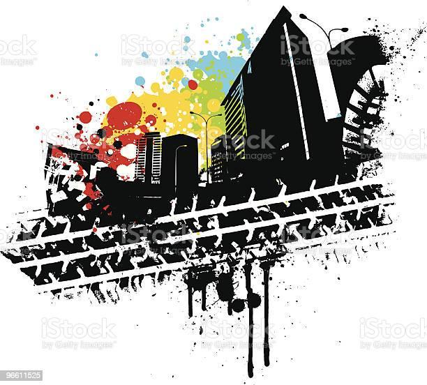 Urban Tread Stock Illustration - Download Image Now