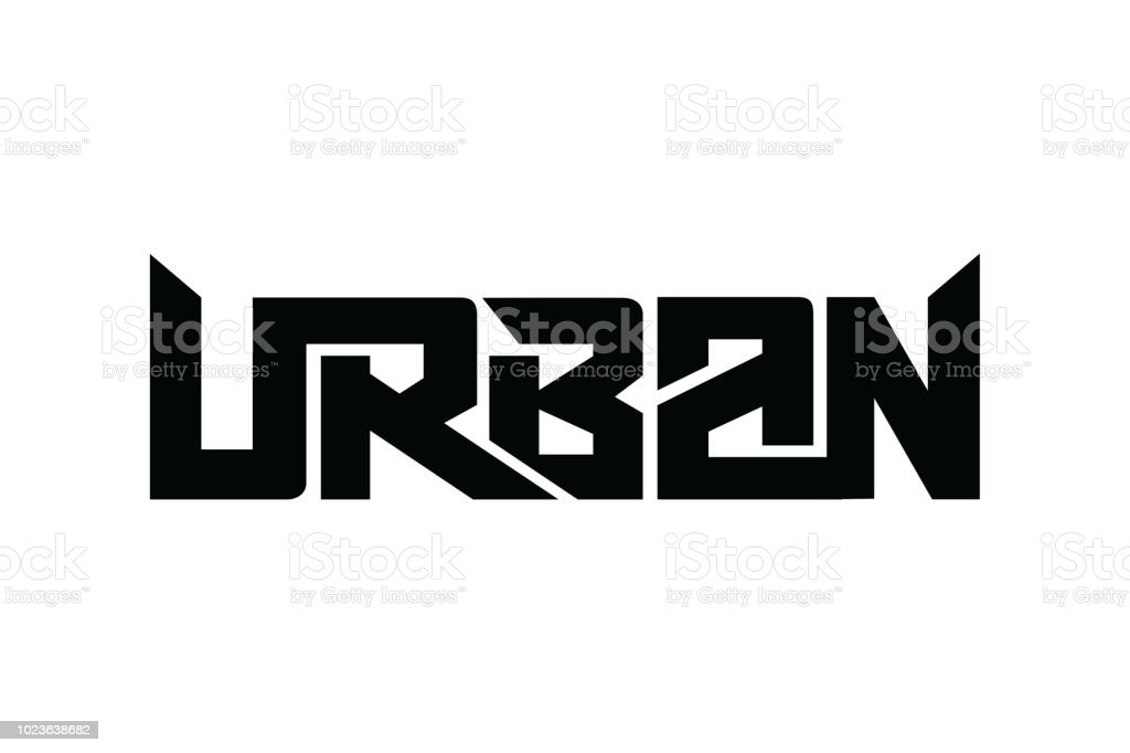 1fb13f822 Urban typography design vector, for t-shirt, poster and other uses -  Illustration .